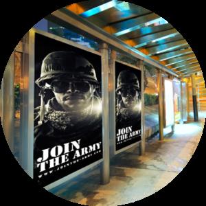 tiskoviny - citylight plakat
