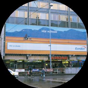dirkovany mesh reklamni banner
